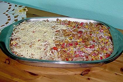 Bunter Kartoffel - Thunfisch Auflauf 15