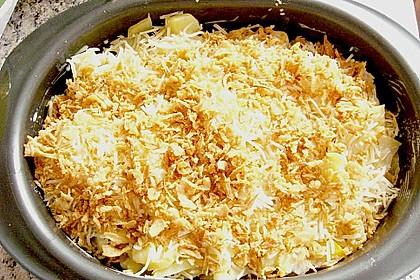 Bunter Kartoffel - Thunfisch Auflauf 16