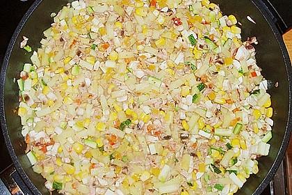 Bunter Kartoffel - Thunfisch Auflauf 12