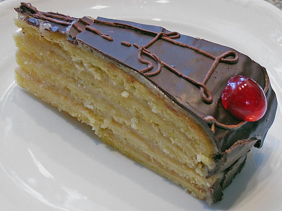 Schokoladen Marzipantorte Von Rike2 Chefkoch De