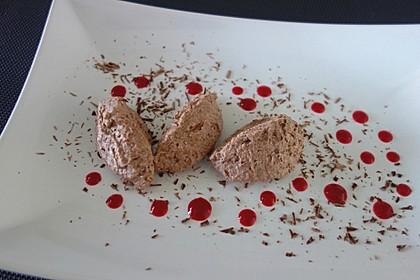 Schnelle  Mousse au Chocolat 3