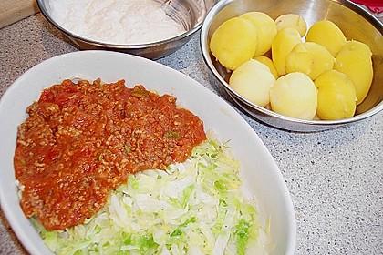 Kartoffel - Hack - Lasagne 4