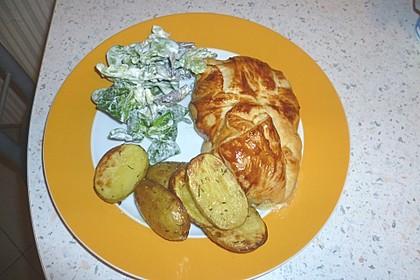 Französisches Hühnerbrustfilet im Blätterteigmantel 13
