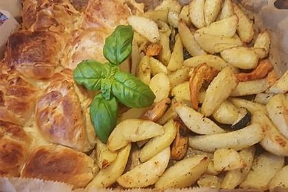 Französisches Hühnerbrustfilet im Blätterteigmantel 9