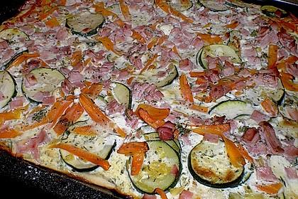 Zucchini - Möhren - Kuchen (Bild)