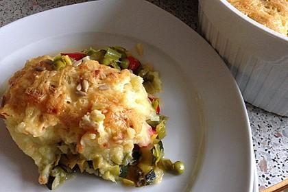 Vegetarischer Gemüseauflauf 1
