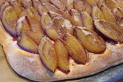 Hefe-Zwetschgenkuchen (Bild)