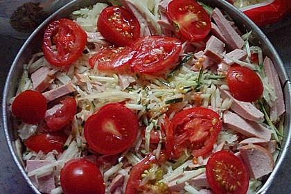 Würziger Gemüsekuchen 1