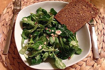 Warmer Feldsalat