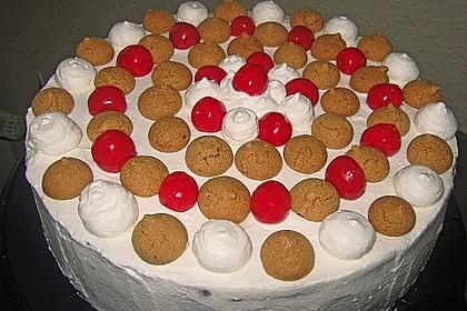 Gewickelte Erdbeer - Tiramisu - Torte 21