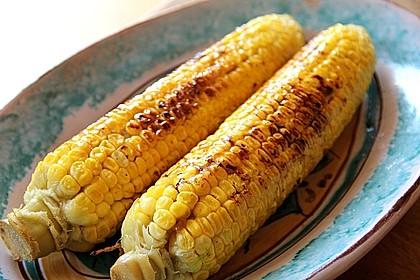 Gegrillte Maiskolben mit Honigbutter 1