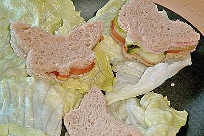 Kleine Brot - Schmetterlinge