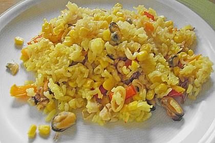 Paella aus dem Ofen 1