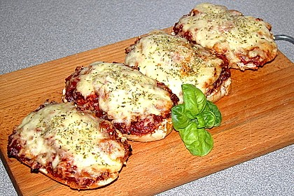 2 Minuten  Pizza-Brötchen 1