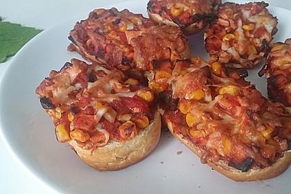 2 Minuten  Pizza-Brötchen 15