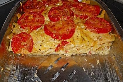 Tomaten - Nudel - Auflauf