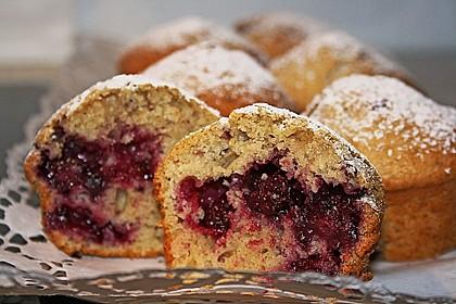 Saftige Pflaumen - Muffins 3