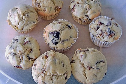 Saftige Pflaumen - Muffins 30