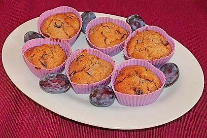 Saftige Pflaumen - Muffins 14