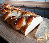 Hefezopf wie beim Bäcker (Bild)