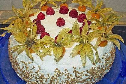 Erdbeer - Physalis - Torte