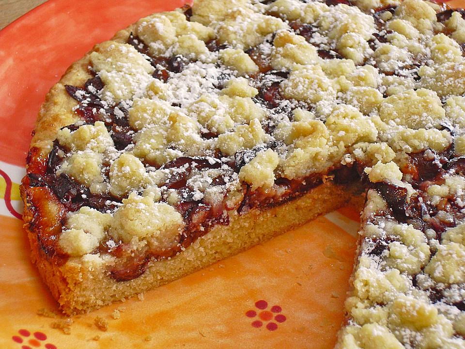 Zwetschgenkuchen Mit Murbeteig Von Susa67 Chefkoch De