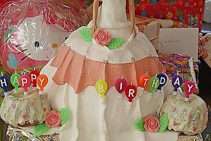 Prinzessinnen - Kuchen 3