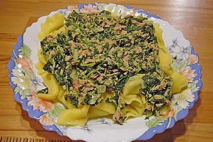 Tortellini in Spinat - Thunfisch 1
