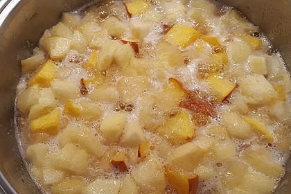Apfel - Kürbismarmelade 6