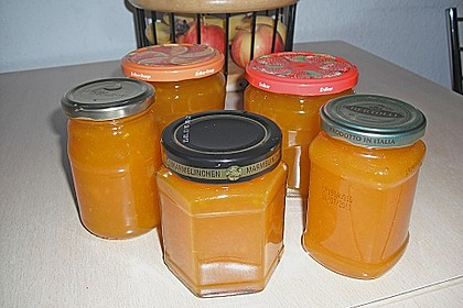 Apfel - Kürbismarmelade 10