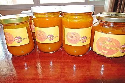 Apfel - Kürbismarmelade 2