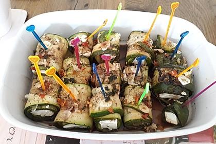 Eingelegte Zucchiniröllchen 32
