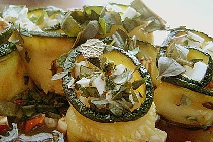 Eingelegte Zucchiniröllchen 71