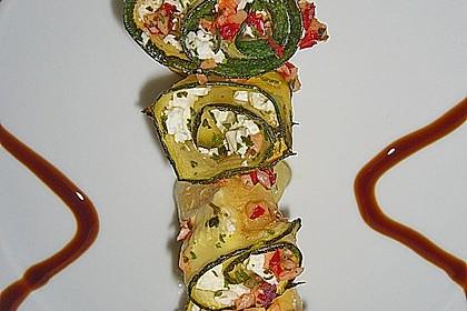 Eingelegte Zucchiniröllchen 44