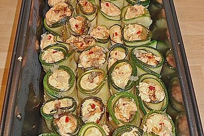 Eingelegte Zucchiniröllchen 72