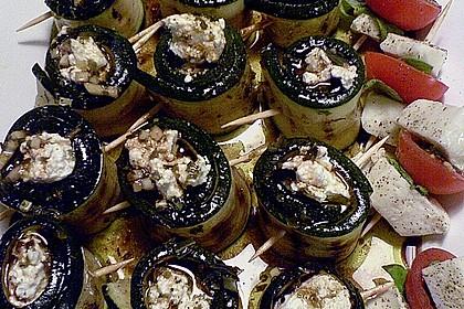 Eingelegte Zucchiniröllchen 27