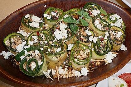 Eingelegte Zucchiniröllchen 28