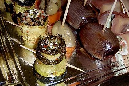Eingelegte Zucchiniröllchen 40