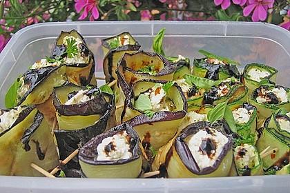 Eingelegte Zucchiniröllchen 49