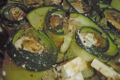 Eingelegte Zucchiniröllchen 101