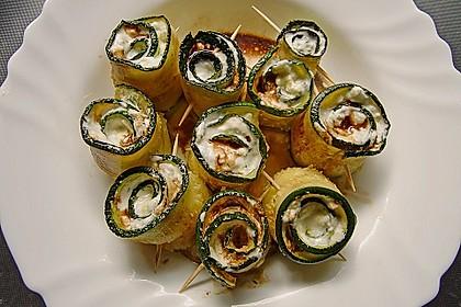 Eingelegte Zucchiniröllchen 19