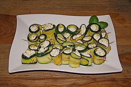 Eingelegte Zucchiniröllchen 63