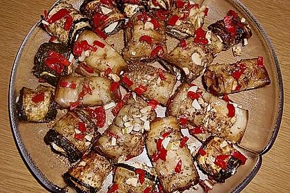 Eingelegte Zucchiniröllchen 53