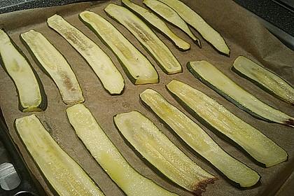 Eingelegte Zucchiniröllchen 52