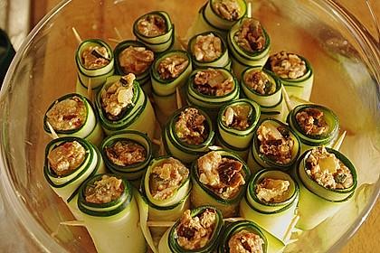 Eingelegte Zucchiniröllchen 35