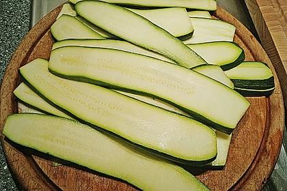 Eingelegte Zucchiniröllchen 66
