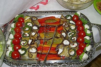 Eingelegte Zucchiniröllchen 5