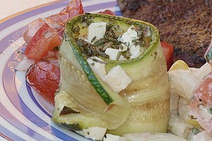 Eingelegte Zucchiniröllchen 65