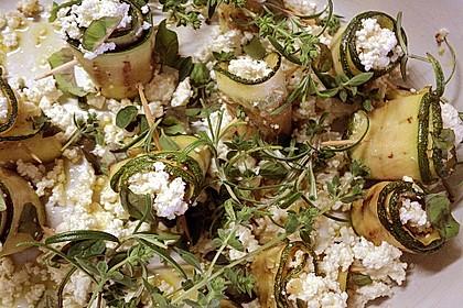 Eingelegte Zucchiniröllchen 59