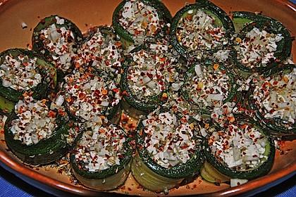 Eingelegte Zucchiniröllchen 41